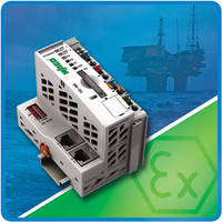 WAGO Controllers, Modules Receive ATEX, IECEx Certifications