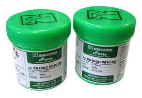 Nihon Superior Scores Its 20th Industry Award with the SN100C P810 D4 Solder Paste