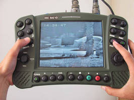 AUSA 2012: ESC BAZ to Exhibit New Capabilities for the MAX, Universal Hand Held Control and Monitoring Unit for Surveillance Cameras and Binoculars