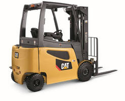 Cat Lift Trucks Series of Electric Forklifts Nominated for Product of the Year