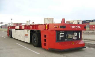 Toyota Industries' Automated Guided Container Transport System Named '2012 Good Design Best 100'