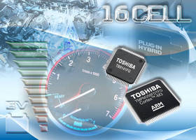 Toshiba Launches Li-ion Battery Monitor Chipset for Automotive Applications
