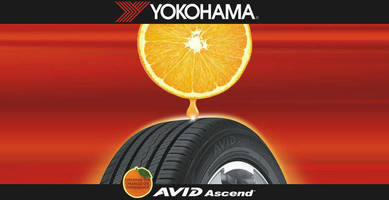 Orange Oil Makes Yokohama Tires More 'A-peeling'