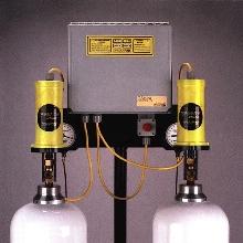 Emergency Shutoff cuts gas flow.