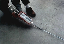 Joint Sealer fills concrete expansion joints.