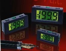 Digital Panel Meter has LED backlighting.