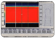 Inspection System captures images of fiber-optic preforms.