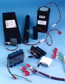 Battery Packs are supplied with wiring harnesses.
