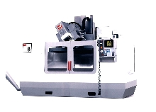 Machining Centers work in five axes.