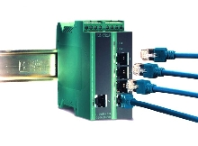 Switch expands Ethernet network on factory floor.