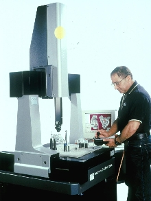 Coordinate Measuring Machine allows direct computer control.