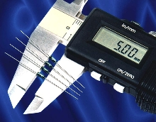 Reed Switch measures only 5 mm.