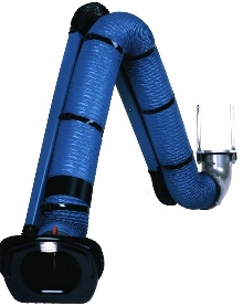 Fume Extraction Arm suits heavy duty use.