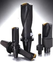 Drills have integral shank.
