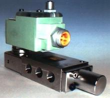 Solenoid Valve operates low-power pilot valves.