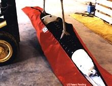 Bushing Sack holds leaky parts.