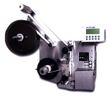Labeler provides pressure sensitive labeling.