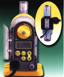Metering Pumps control and verify flow.