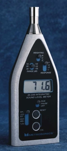 Sound Level Meter provides 5 operating modes.