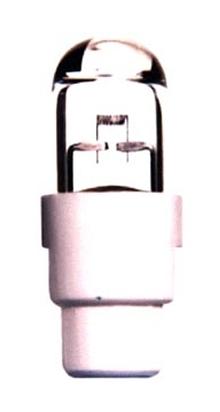 Miniature Halogen Lamps measure 4 mm in diameter.