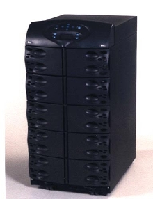 Uninterruptible Power Supply can be field upgraded.