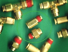 Brass Tube Fittings differentiate between English and Metric.