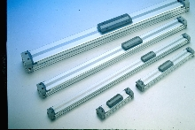 Rodless Cylinders are short, thin, and light.
