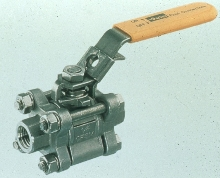 Ball Valve provides easy access.