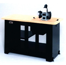Shop Bench offers quick change tool insert system.