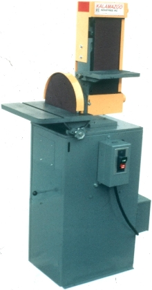 Combination Sander includes belt and disc.