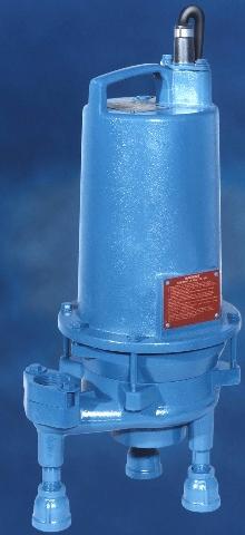 Grinder Pump utilizes staggered slicing action.