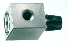 Needle Valve operates independently or remotely.