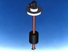 Level Sensor has analog control output.