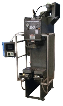 Hydraulic Press monitors critical force/position data.