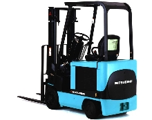 Forklift Trucks handle up to 3 tons.