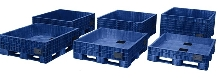 Transport Tubs eliminate air in shipping and storage.