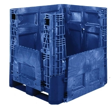 Bulk Box offers 1,500 lb capacity.