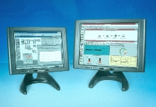 LCD Displays withstand shock, vibration and sunlight.