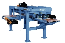 Magnetic Sheet Stacker speeds sheet metal handling.
