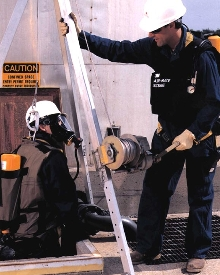 SCBA System is NIOSH-approved for confined spaces.