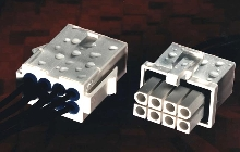 Connector System separates liquids from electronics.