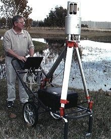 Scan Cart provides portability to site scanner.
