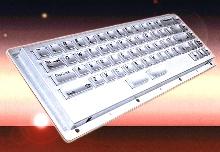 Stainless Steel Keyboard meets NEMA 4/4X/12 specs.