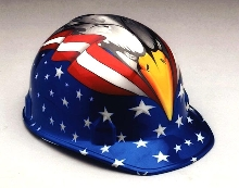 Safety Cap increases safety compliance and patriotism.