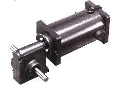 Right Angle Gearmotor provides high torque.