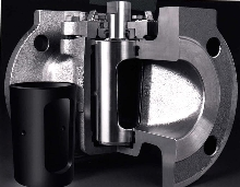 Plug Valve handles high temperatures.