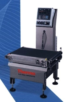 Scales provide in-motion weighing.