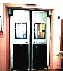 Traffic Doors combine ease of operation with security.