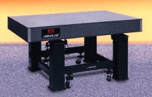 Optical Tables range in size up to 6 x 16 ft.