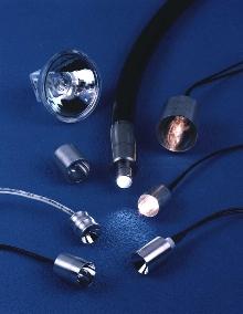 Fiber Optic Light Source produces high intensity spots.
